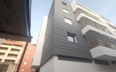 Facciate ventilate in zinco titanio e alluminio in Sardegna: quali sono i vantaggi